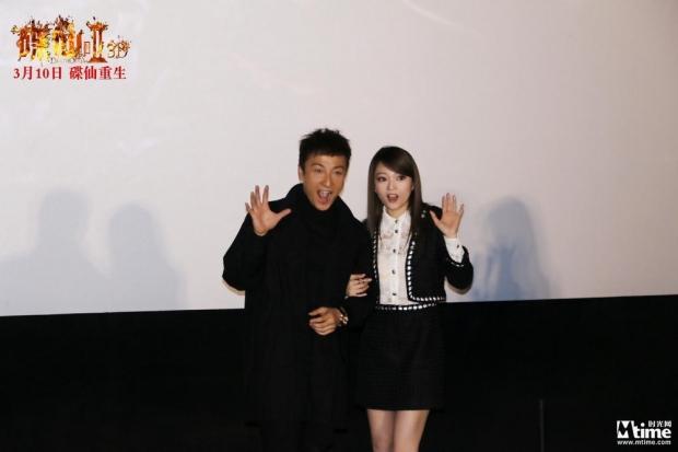 《碟仙诡谭2》张韶涵挑战鬼片 导演:鬼都被你吓到了